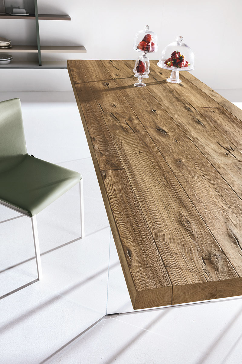 AIR WILDWOOD TABLE - LAGO S.p.A - Tavolo fisso - Myhomeshop.it
